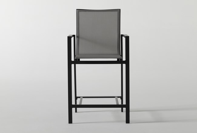 """Ravelo Outdoor Sling 22"""" Counter Stool - 360"""