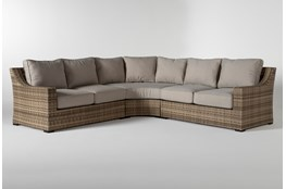 Capri Outdoor 3 Piece Sectional
