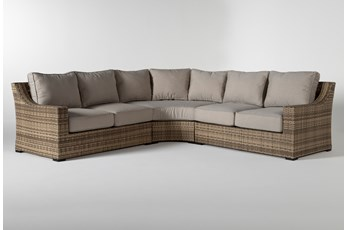 "Capri Outdoor 3 Piece 109"" Sectional"