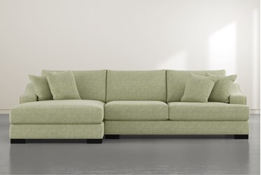 """Lodge Ivy 2 Piece 139"""" Sectional with Left Arm Facing Oversized Chaise"""