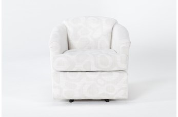 Aiko Swivel Accent Chair