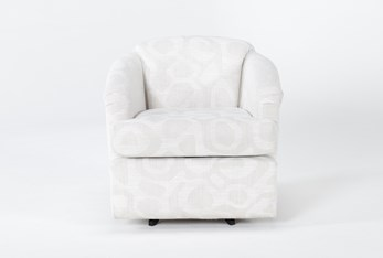 Aiko Swivel Accent Chair