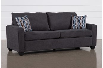 Reid Gunmetal Sofa