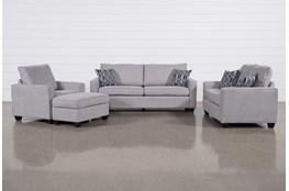 Reid Smoke 4 Piece Living Room Set