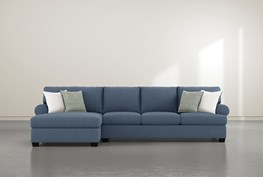 """Brody 2 Piece 133"""" Sectional With Left Arm Facing Chaise"""