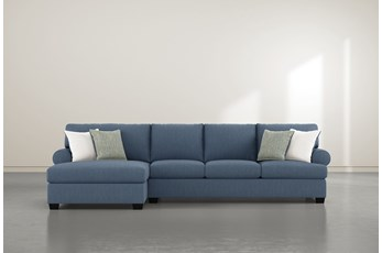 "Brody 2 Piece 133"" Sectional With Left Arm Facing Chaise"