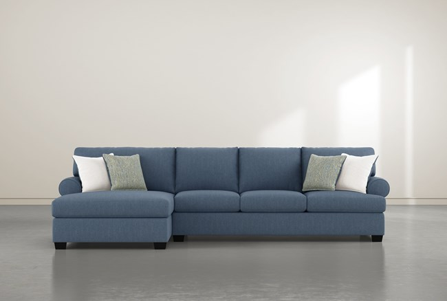 """Brody 2 Piece 133"""" Sectional With Left Arm Facing Chaise - 360"""
