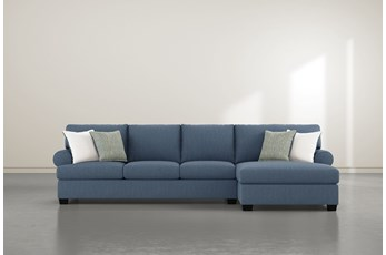 "Brody 2 Piece 133"" Sectional With Right Arm Facing Chaise"