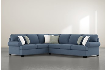 "Brody 2 Piece 126"" Sectional With Right Arm Facing Sofa"