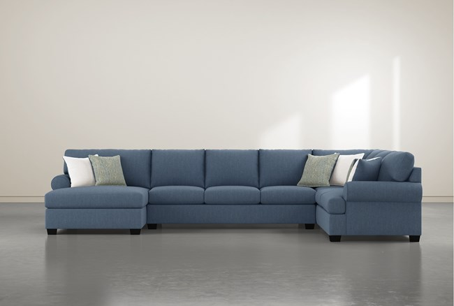 """Brody 3 Piece 163"""" Sectional With Left Arm Facing Chaise - 360"""