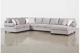 Brody 3 Piece Sectional With Right Arm Facing Chaise