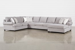 """Brody 3 Piece 163"""" Sectional With Right Arm Facing Chaise"""