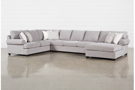 Carmen 3 Piece Sectional With Raf Chaise