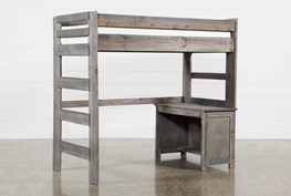 Summit Grey Loft Bed