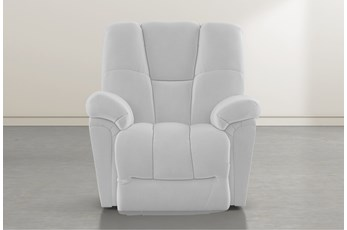 Maurer II Grey Power-Lift Recliner