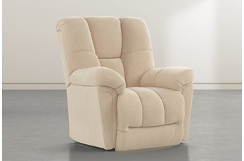 Maurer II Almond Power-Lift Recliner