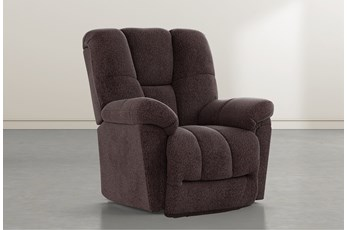 Maurer II Coffee Power-Lift Recliner