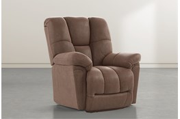 Maurer II Brown Power-Lift Recliner