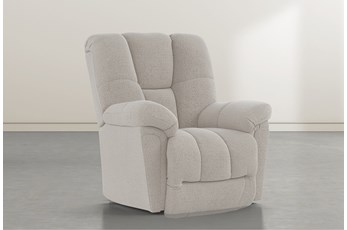 Maurer II Linen Power-Lift Recliner