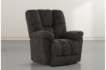 Maurer II Midnight Power-Lift Recliner