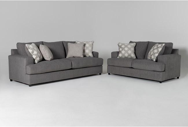 Milani 2 Piece Living Room Set - 360