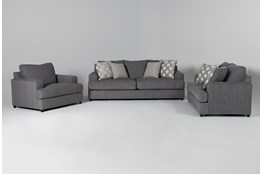 Milani 3 Piece Living Room Set