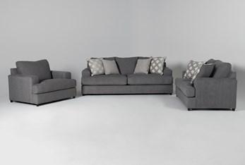 Milani 3 Piece Living Room Set