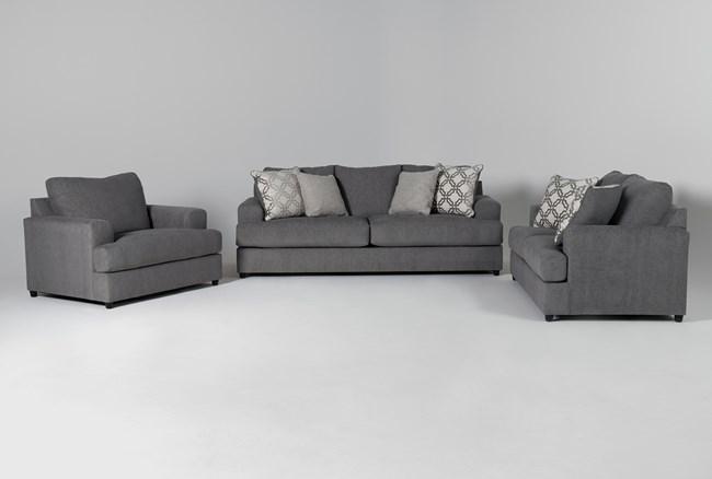 Milani 3 Piece Living Room Set - 360