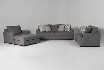 Milani 4 Piece Living Room Set
