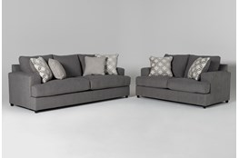 Milani 2 Piece Living Room Set with Queen Sleeper