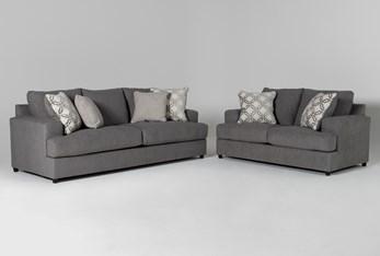Milani 2 Piece Living Room Set with Queen Sleeper