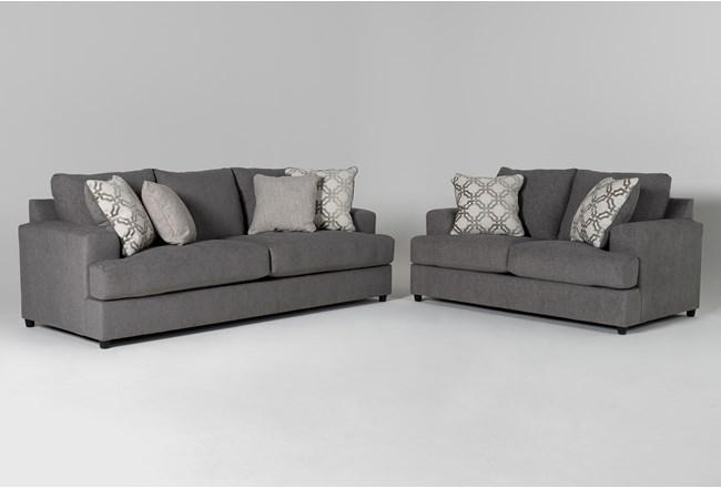 Milani 2 Piece Living Room Set with Queen Sleeper - 360