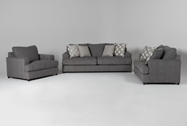 Milani 3 Piece Living Room Set with Queen Sleeper
