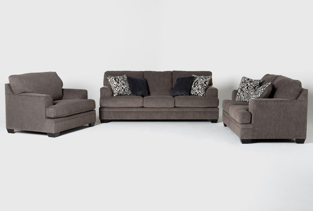 Harland 3 Piece Living Room Set