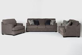 Harland 3 Piece Living Room Set