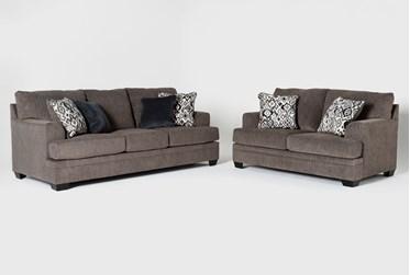 Harland 2 Piece Living Room Set with Queen Sleeper