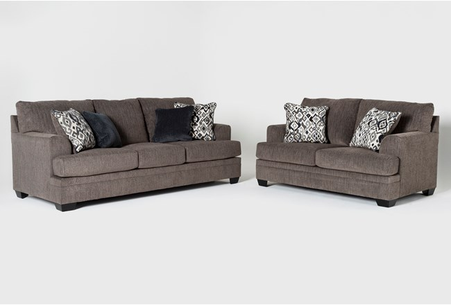 Harland 2 Piece Living Room Set with Queen Sleeper - 360