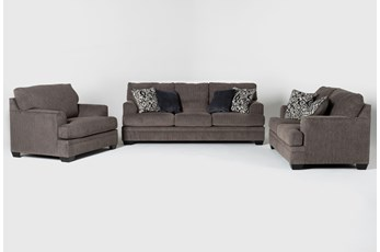 Harland 3 Piece Living Room Set with Queen Sleeper