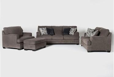 Harland 4 Piece Living Room Set with Queen Sleeper