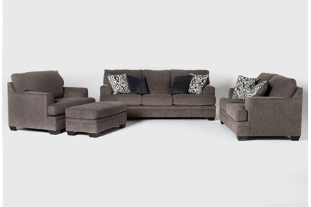 Harland 4 Piece Living Room Set with Queen Sleeper