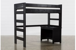 Summit Black Loft Bed