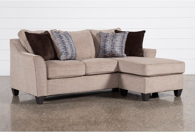 Jan Sand Sofa With Reversible Chaise - 360