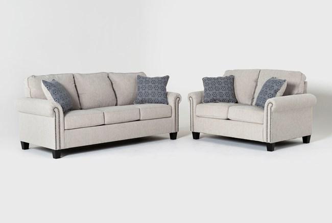 Briella 2 Piece Living Room Set - 360