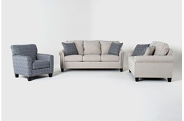 Briella 3 Piece Living Room Set