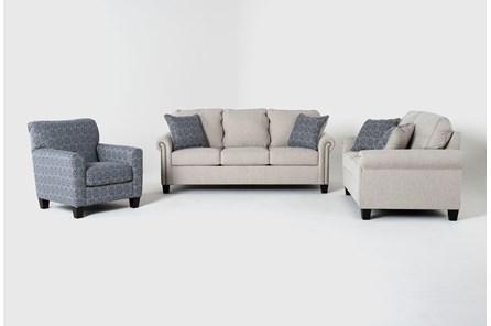 Briella 3 Piece Living Room Set