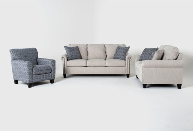 Briella 3 Piece Living Room Set - 360