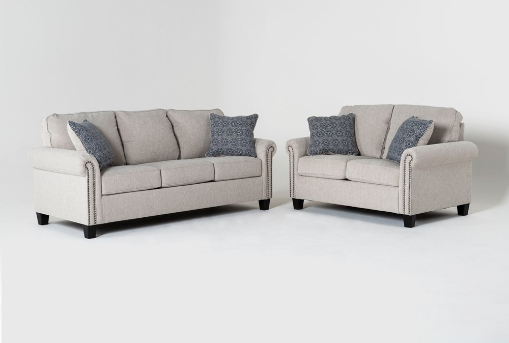 Briella 2 Piece Living Room Set With Queen Sleeper