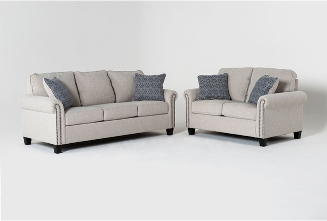 Briella 2 Piece Living Room Set With Queen Sleeper - 360