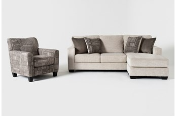 Marcos 2 Piece Living Room Set