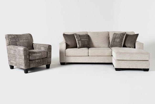 Marcos 2 Piece Living Room Set - 360